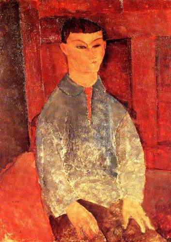 Modigliani - Portrait of Moise Kisling [3]